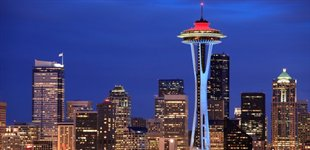 USA: Seattle - Space Needle