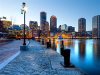 Havnefront, Boston, USA