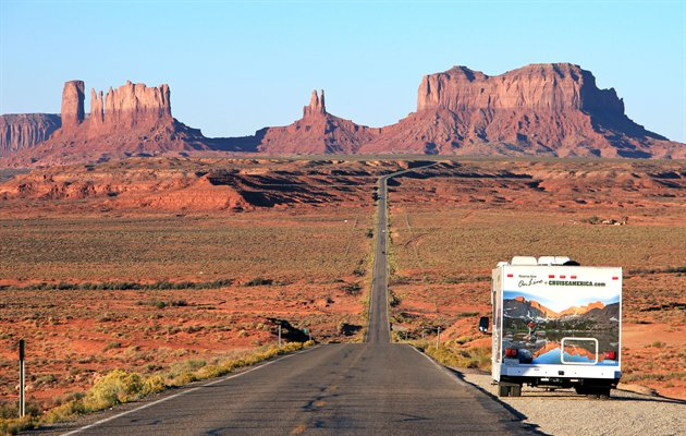 Cruise America, Monument Valley, USA