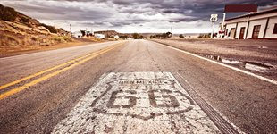 Route 66, New Mexico, USA