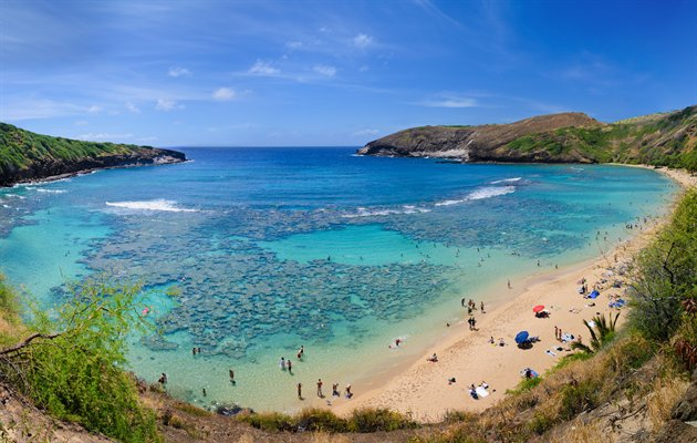 hanauma bay, Ohau, Hawaii, USA