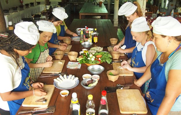 Cooking school, Chiang Mai
