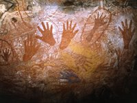 Aboriginal Art, Kakadu National Park, Australien
