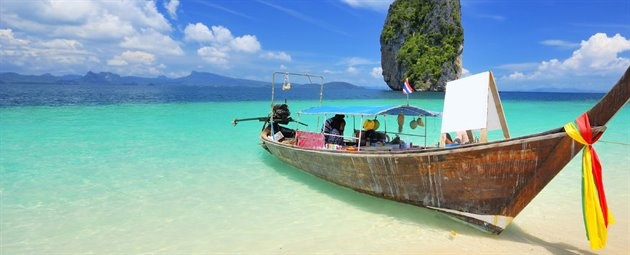 Longtail boat1, Thailand