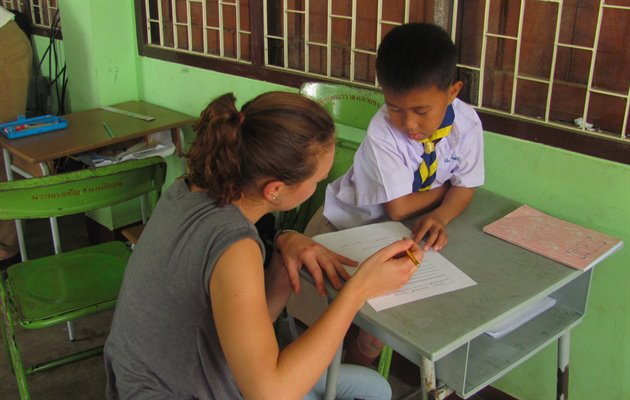 Singburi teaching, Thailand