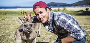 K�nguru, Backpacker, Australien