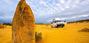 Pinnacles �rkenen, Australien