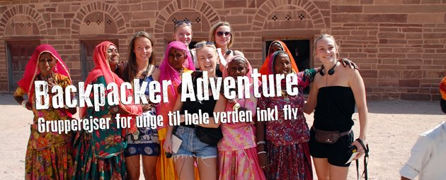 Backpacker Adventure - Grupperejser for unge