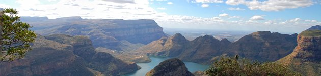 Blyde river canyon, Panorama Route, Sydafrika