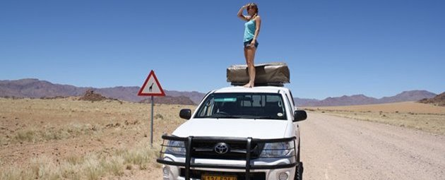 Roadtrip i Namibia