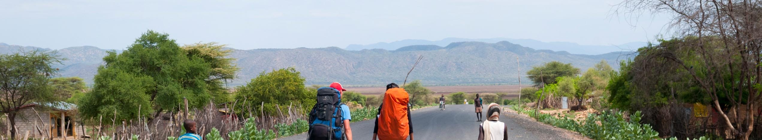 Backpacking i Uganda