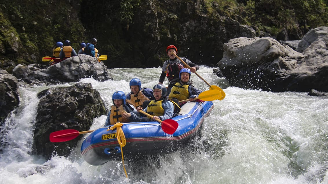 River Valley, Rafting, New Zealand