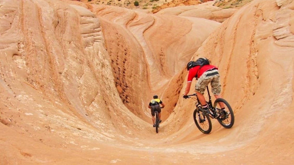 Mountainbiking ved Moab