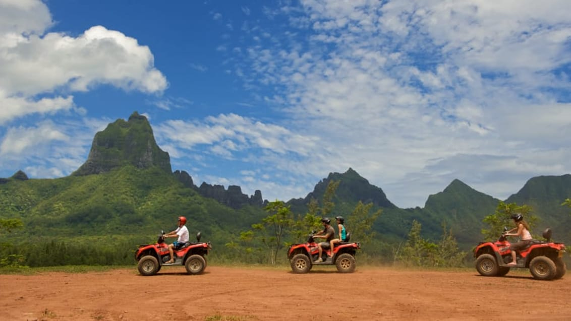 Quad Biking, Tahiti