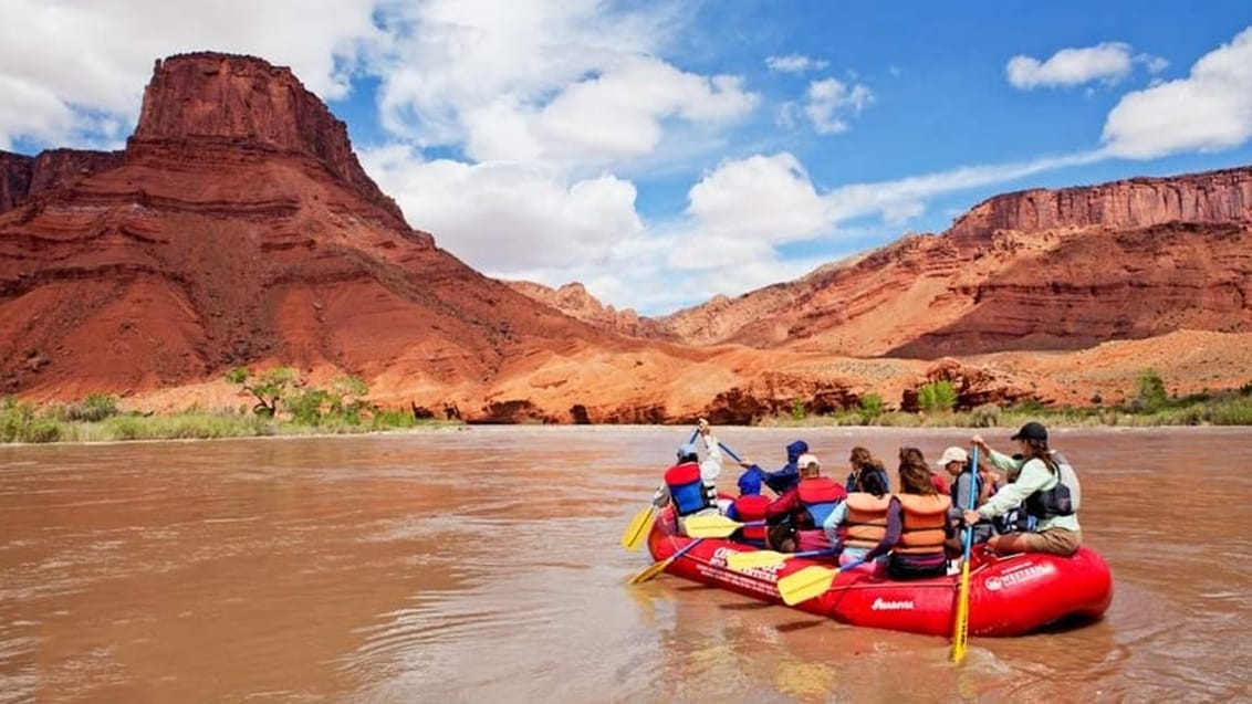 Rafting, Colorado River, USA