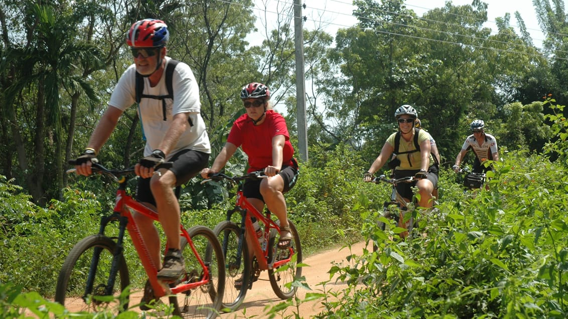 Mountain bike tur i Sri Lanka