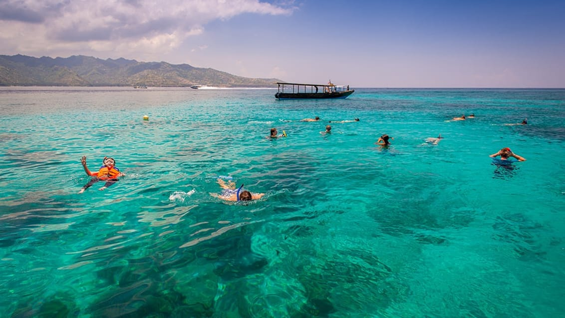 Oplev Gili Islands i Indonesien