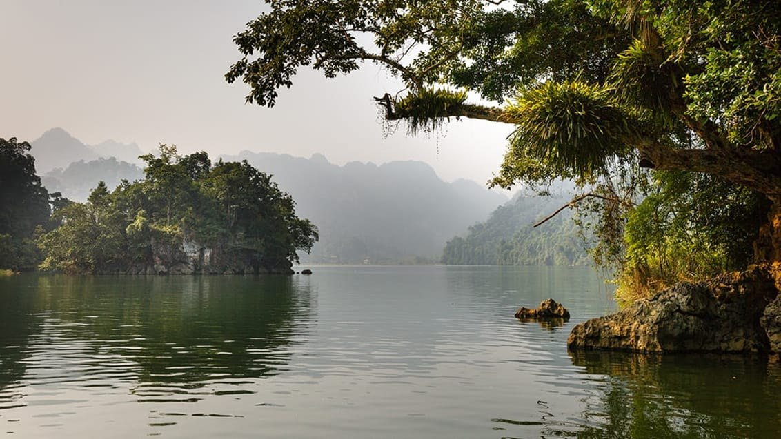 Ba Be lake, Vietnam