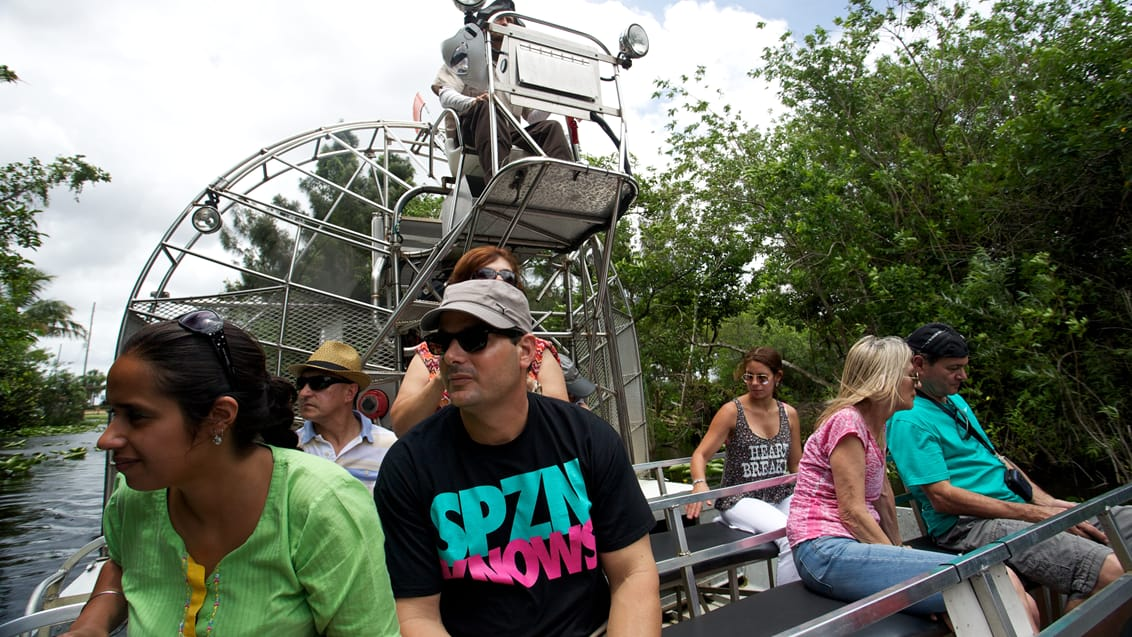 Airboat, Everglades National Park, USA
