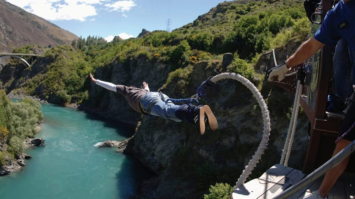 Bungy Jump, Queenstown, New Zealand