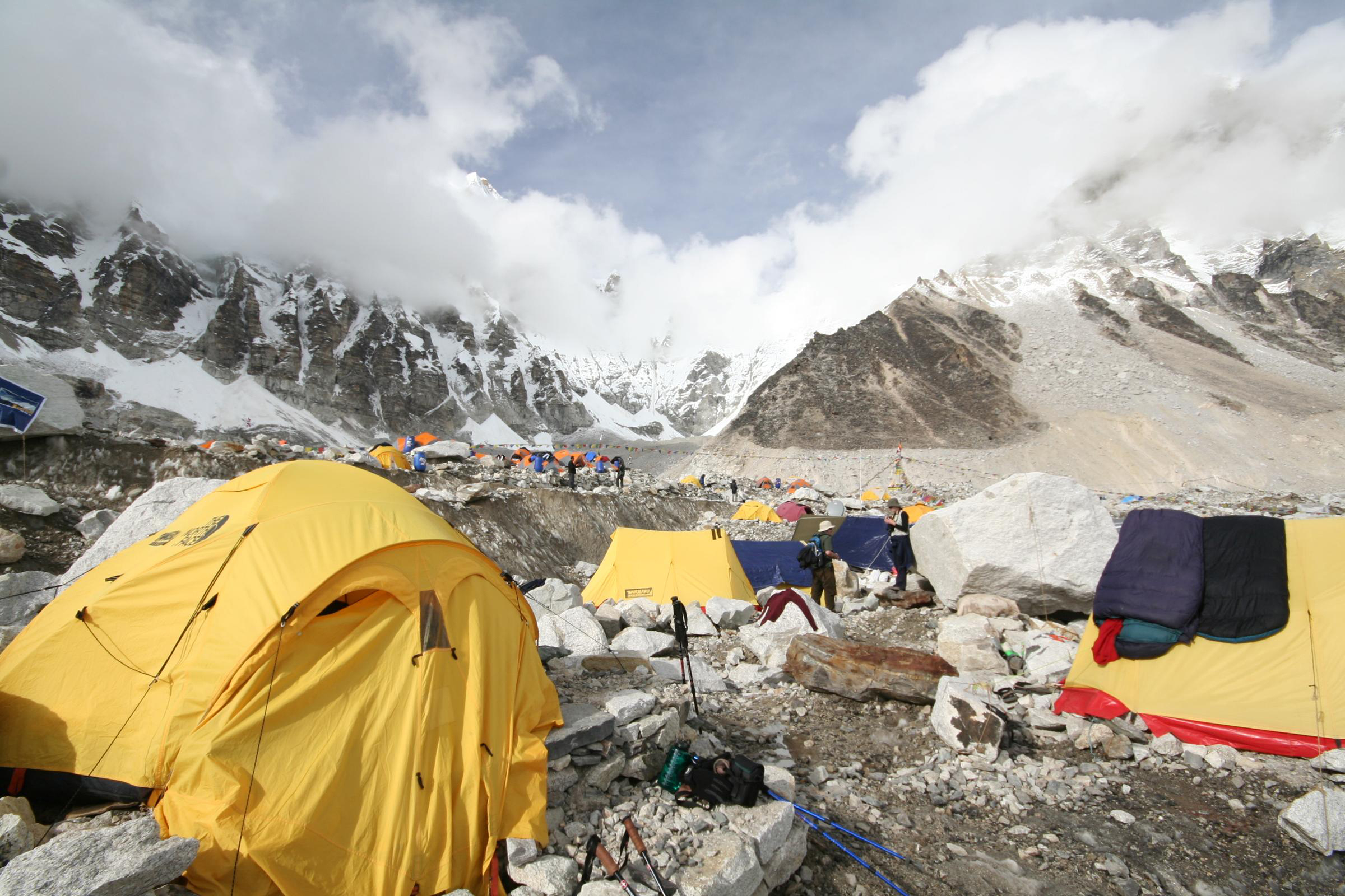 everest basecamp tents