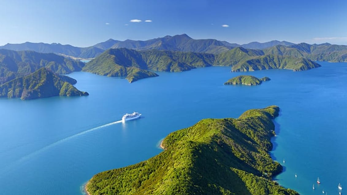 Cykling, Marlborough Sounds, New Zealand