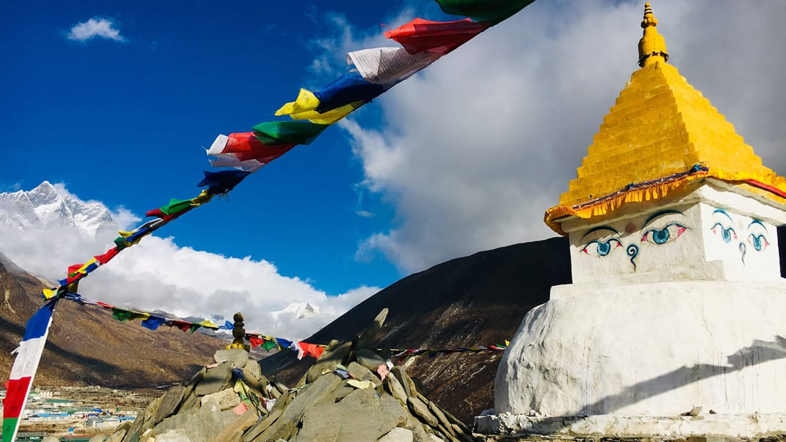 stuba, everest, nepal