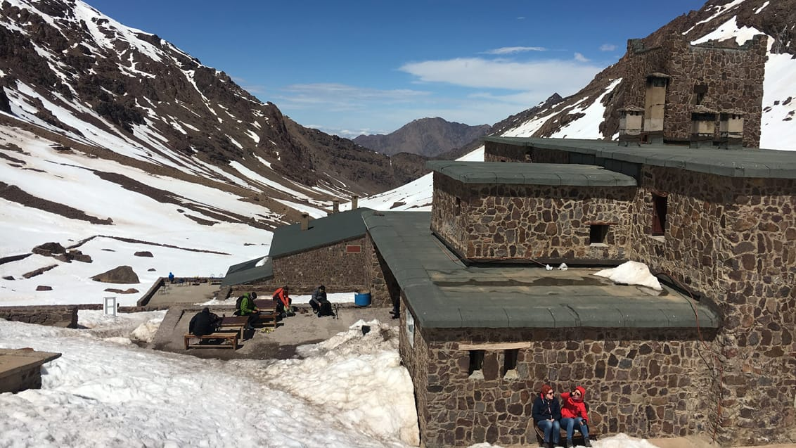 Toubkal Refuge, Base Camp, Marokko